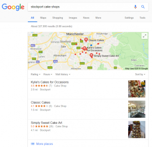 list your stockport business on google